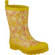 Viking Footwear Mimosa Rubber Boots Kids Yellow/Multi